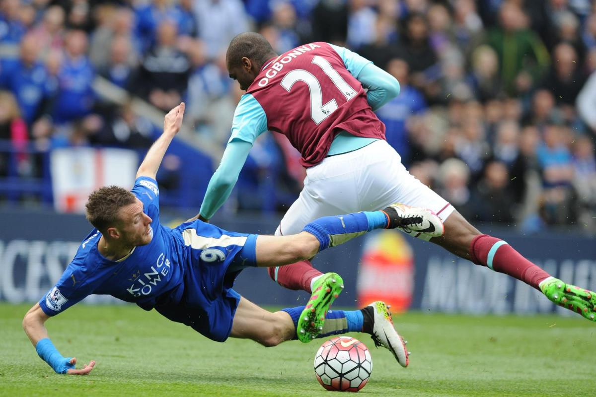 Vardy tumbles, Leicester stumbles, the FA fumbles